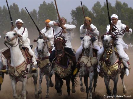 Fantasia in Fes/ Marokko